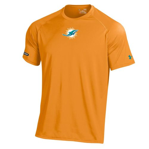 Under Armour™ NFL Combine Authentic Men's Miami Dolphins Logo Tech T-shirt
