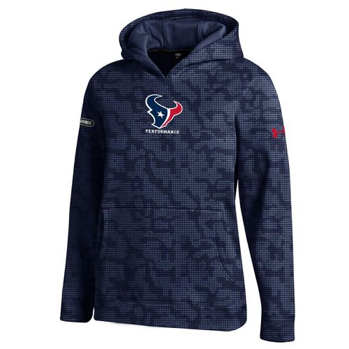 Under Armour™ NFL Combine Authentic Boys' Houston Texans F16 Novelty Hoodie