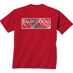 New World Graphics Women's University of Louisiana at Lafayette Madras T-shirt
