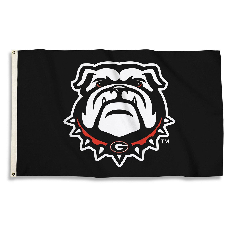BSI University of Georgia 3'H x 5'W Mascot Flag