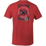 Image One Men's University of Louisiana at Lafayette Retriever Comfort Color Short Sleeve T-shir