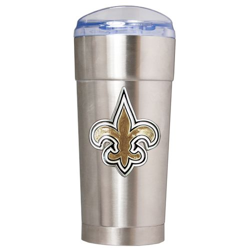 Great American Products New Orleans Saints Eagle 24 oz. Vacuum-Insulated Stainless-Steel Party Cup