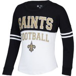 5th & Ocean Clothing Girls' New Orleans Saints Spirit Jersey