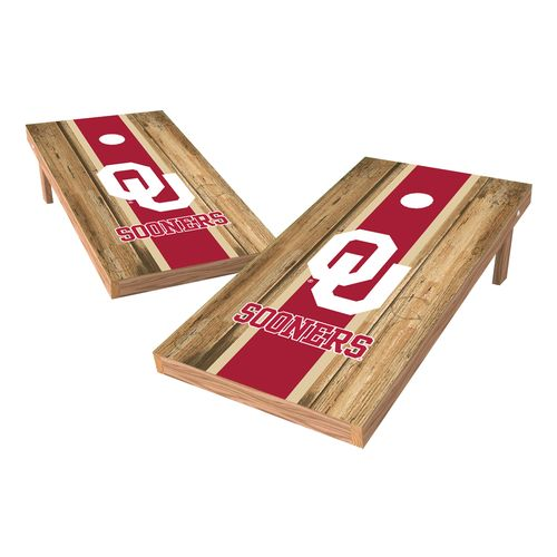 Wild Sports University of Oklahoma Cornhole Game