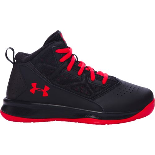Under Armour™ Boys' BPS Jet Mid-Top Basketball Shoes
