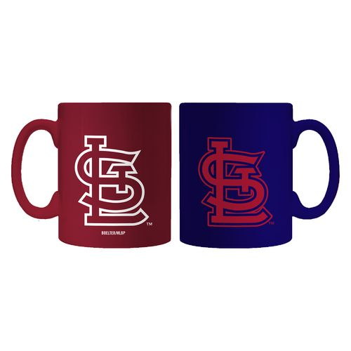 Boelter Brands St. Louis Cardinals Home and Away 11 oz. Mug Set