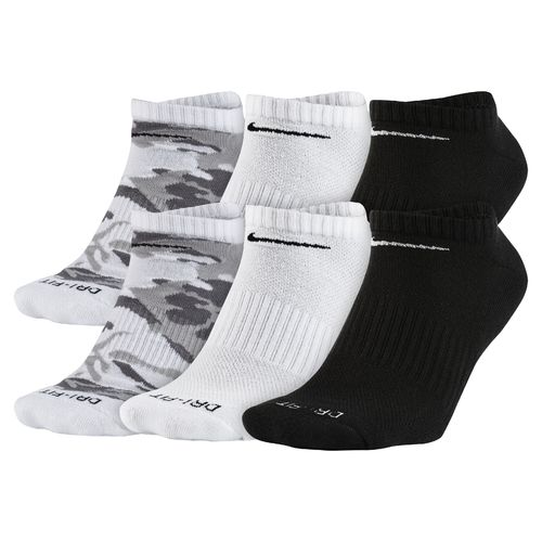 Nike Men's Dri-FIT Cushioned No-Show Socks