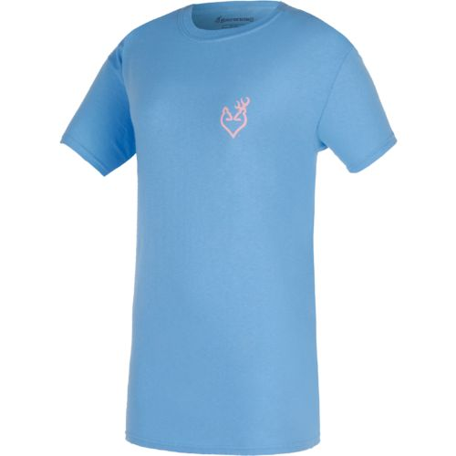 Browning Women's Native Buckheart Short Sleeve T-shirt - view number 2