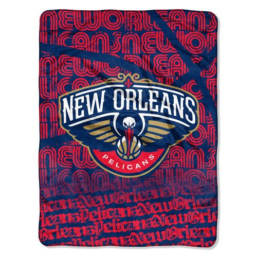 The Northwest Company New Orleans Pelicans Redux Micro Raschel Throw