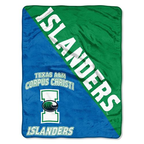 The Northwest Company Texas A&M University at Corpus Christi Halftone Micro Raschel Throw