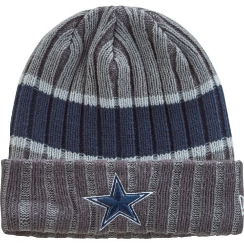 New Era Men's Dallas Cowboys Stripe Chiller Knit Hat