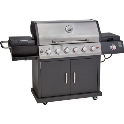 Display product reviews for Outdoor Gourmet 6-Burner Gas Grill