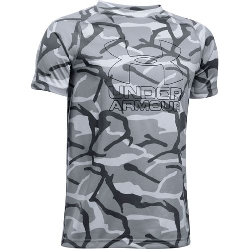 Under Armour™ Boys' Printed Hybrid T-shirt