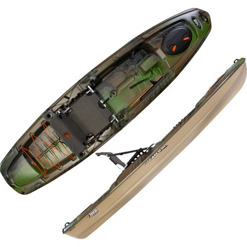 "Display product reviews for Pelican Premium The Catch 120 11'8"" Camo Kayak"