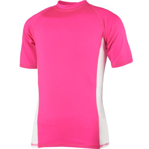 O'Rageous Girls' Raglan Short Sleeve Rash Guard - view number 1