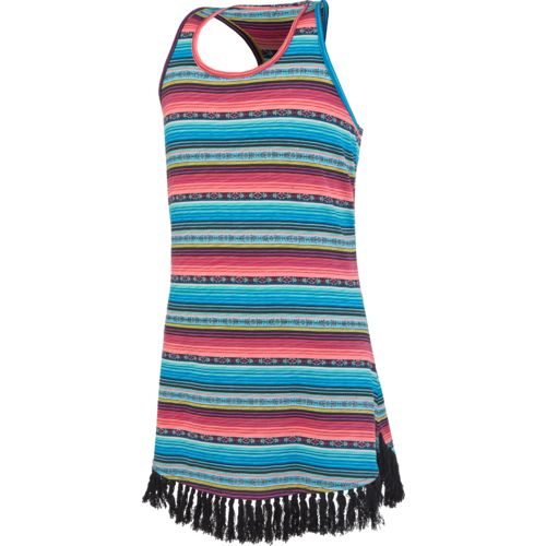 O'Rageous Girls' Tassel Hem Tank Dress Cover-Up