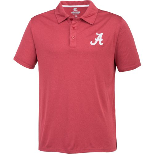 Colosseum Athletics™ Men's University of Alabama Academy Axis Polo Shirt