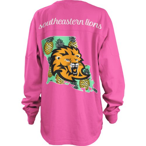 Three Squared Juniors' Southeastern Louisiana University Aloha Big Shirt