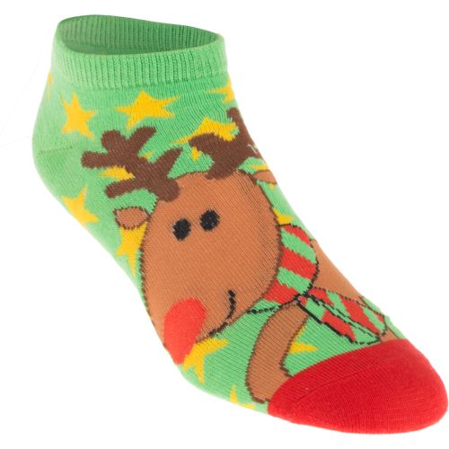 BCG™ Women's Reindeer Holiday Fashion Socks 10-Pack