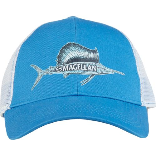 Magellan Outdoors Men's Sketched Sailfish Trucker Cap