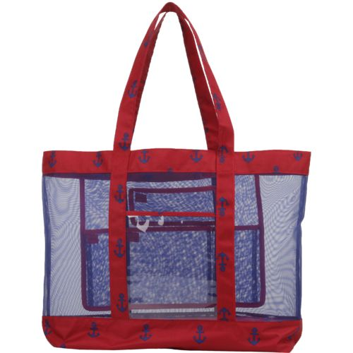 Academy Sports + Outdoors Mesh Beach Tote Anchor