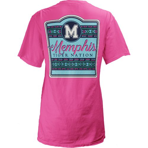 Three Squared Juniors' University of Memphis Baylee V-neck T-shirt