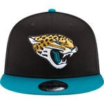 New Era Men's Jacksonville Jaguars 9FIFTY Baycik Snapback Cap - view number 6