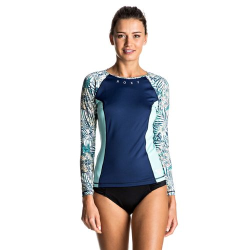 Roxy Women's Four Shore Long Sleeve Rash Guard