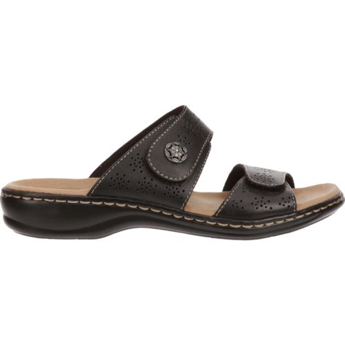 Clarks® Women's 2-Strap Adjustable Sandals