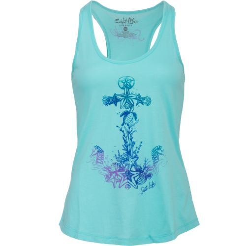 Salt Life Women's Anchored to the Sea Tank Top