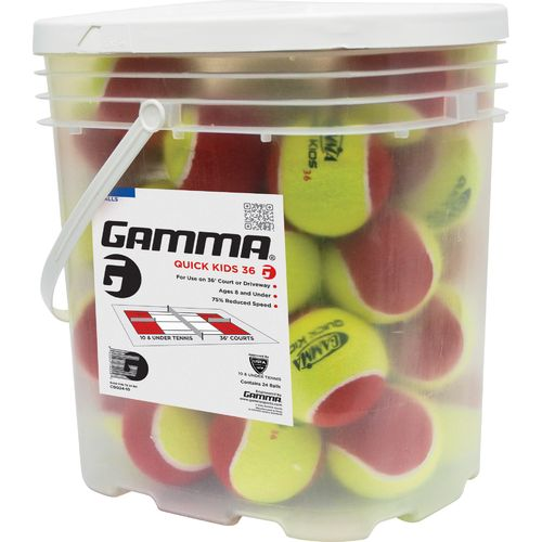 Gamma Quick Kids™ 36 Tennis Balls 24-Pack