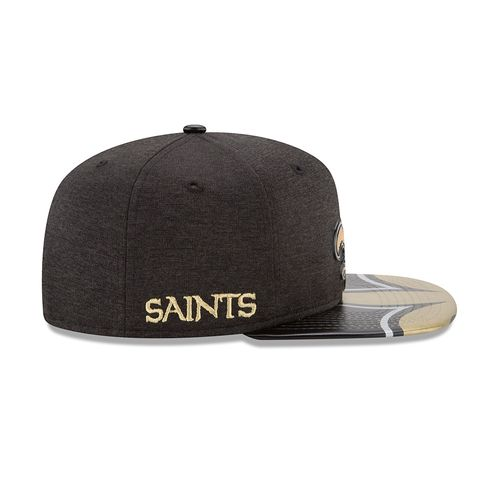 New Era Men's New Orleans Saints 9FIFTY® NFL17 On Stage Cap - view number 5