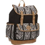Emma & Chloe Girls' Vinyl-Base Cotton Backpack - view number 2