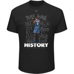 Majestic Men's Oklahoma City Thunder's Russell Westbrook 2017 Triple Double History T-shirt - view number 1