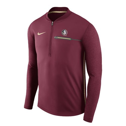 Nike™ Men's Florida State University Coaches 1/4 Zip Pullover