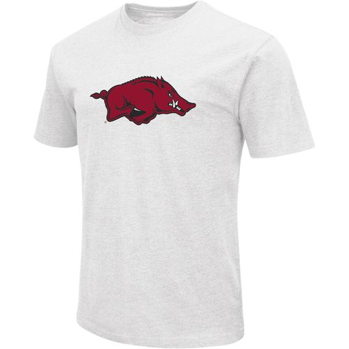 Colosseum Athletics Men's University of Arkansas Logo Short Sleeve T-shirt