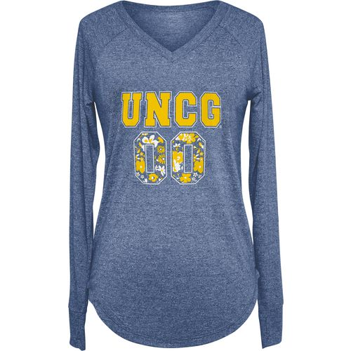 Chicka-d Women's University of North Carolina at Greensboro Favorite Long Sleeve T-shirt
