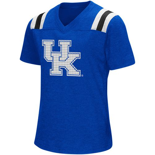 Colosseum Athletics Girls' University of Kentucky Rugby Short Sleeve T-shirt