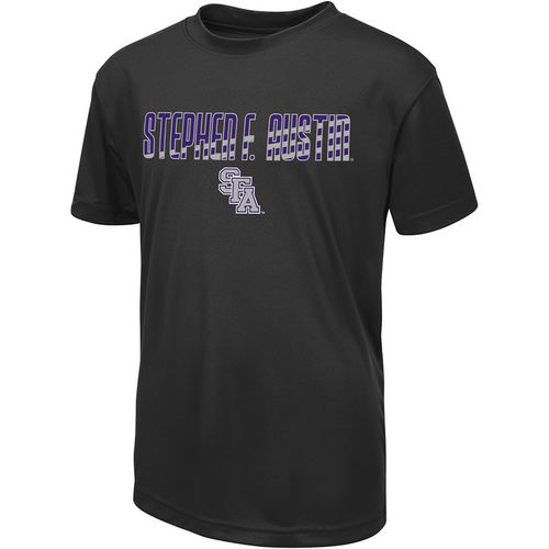 Colosseum Athletics Boys' Stephen F. Austin State University Team Stripe T-shirt
