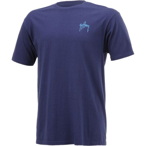 Guy Harvey Men's Barrel Logo T-shirt - view number 1