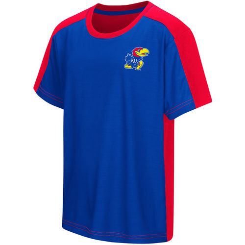 Colosseum Athletics Boys' University of Kansas Short Sleeve T-shirt