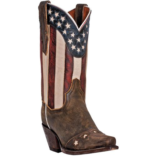 Dan Post Women's Liberty Vintage Leather Western Boots