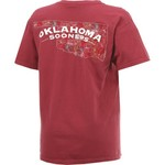 New World Graphics Women's University of Oklahoma Comfort Color Puff Arch T-shirt - view number 2