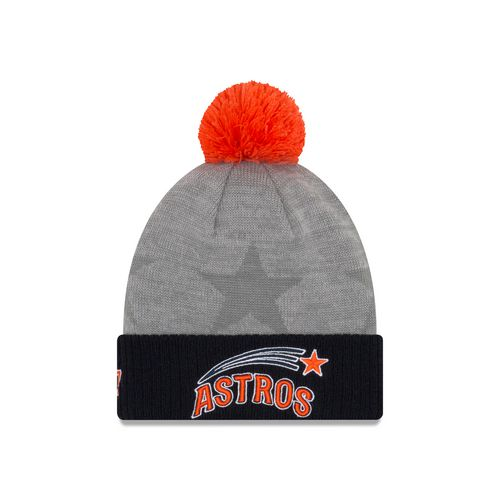 New Era Men's Houston Astros Jose Altuve 27 Cuffed Pom Knit Beanie