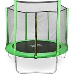 Pure Fun Dura-Bounce 8 ft Round Trampoline with Enclosure - view number 1