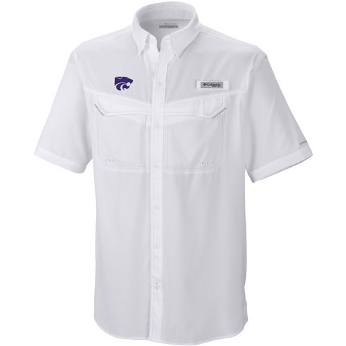 Columbia Sportswear Men's Kansas State University Low Drag Offshore Short Sleeve Shirt