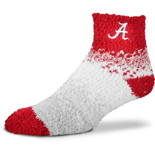 For Bare Feet Women's University of Alabama Marquee Sleep Soft Quarter Socks