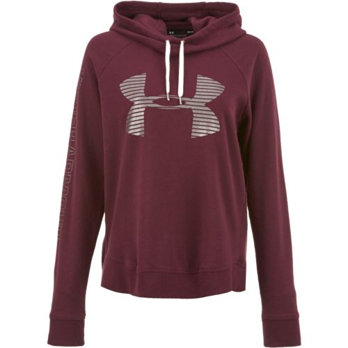 Under Armour Women's Favorite Fleece Metallic Big Logo Hoodie