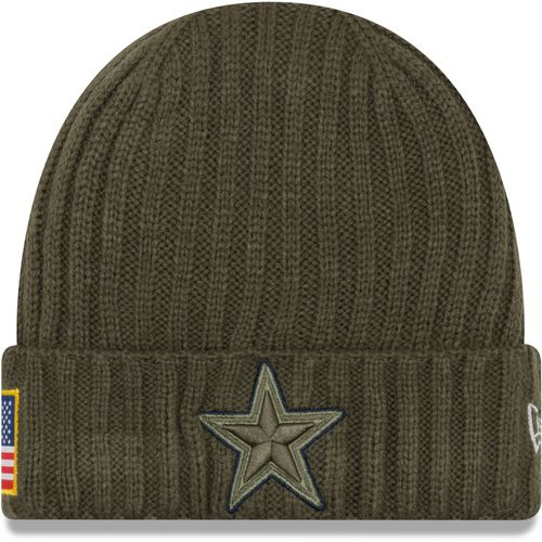 New Era Men's Cowboys Salute to Service '17 Knit Cap