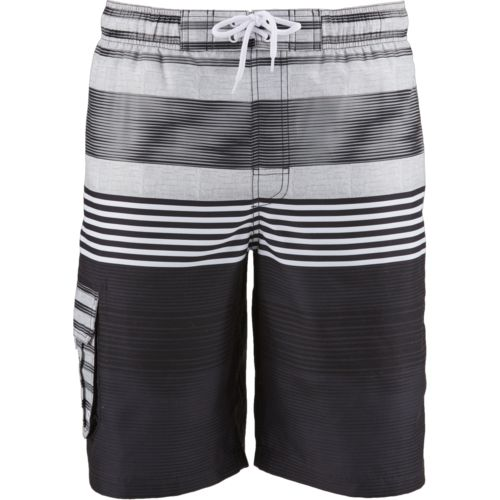 O'Rageous Men's Contrast Stripe Boardshorts
